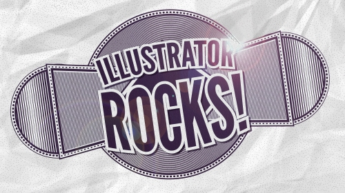 Illustrator rocks